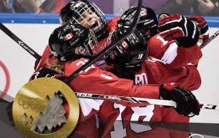 Canadioan Women Hockey GOLD at Sochi 2014